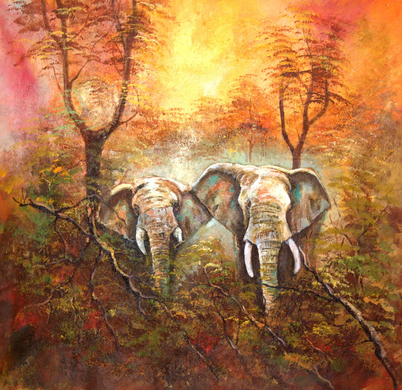 Elephant Painting | Self Storage Holden Hill