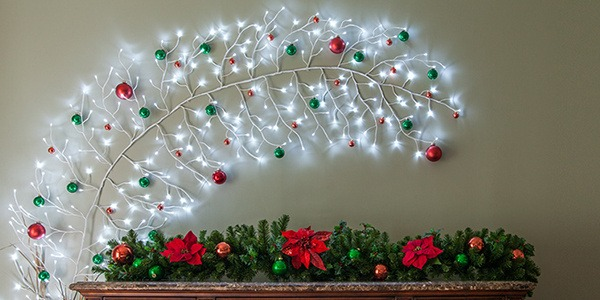 Christmas Decoration With Lights