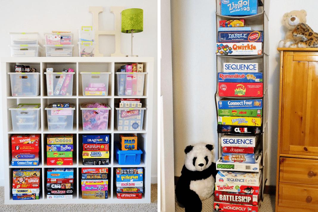 hanging board games
