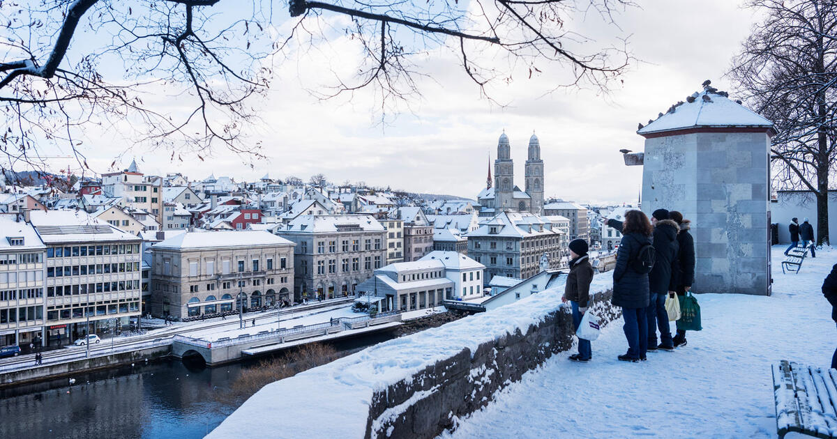 winter in Zurich