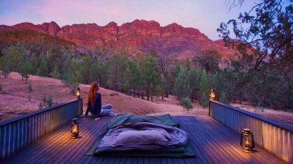 flinders range sunset