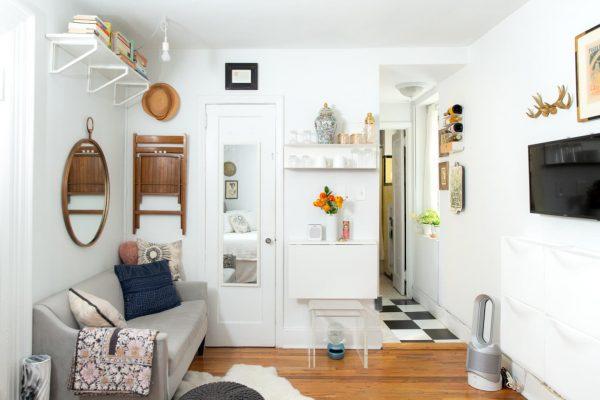 an organized tiny home