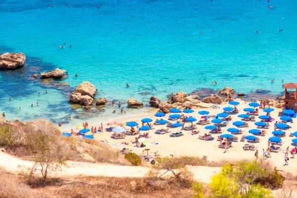 konnos beach in cyprus