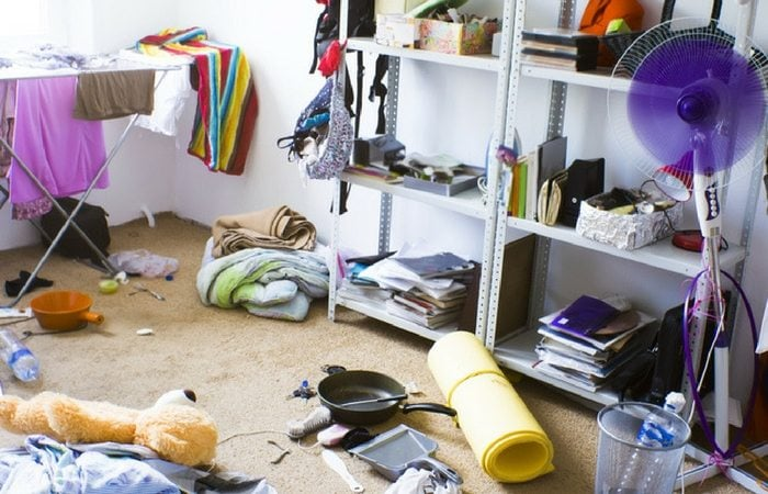household clutter