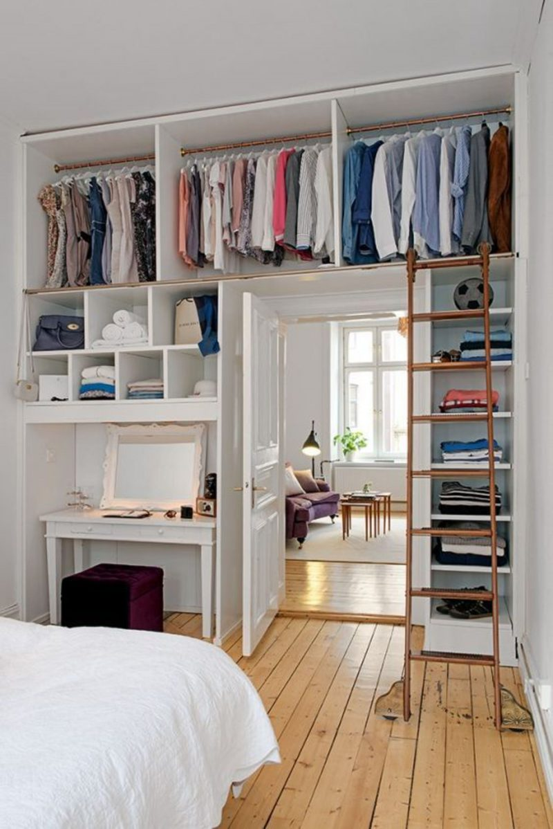Saving Closet Spaces