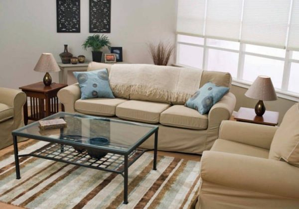 Furniture in small living rooms
